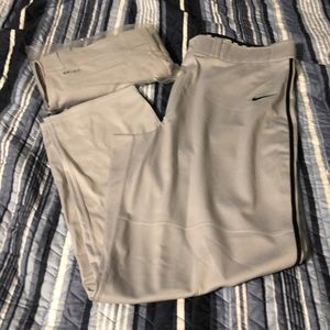 2 pr Nike Swingman gray baseball pants XXL NWT